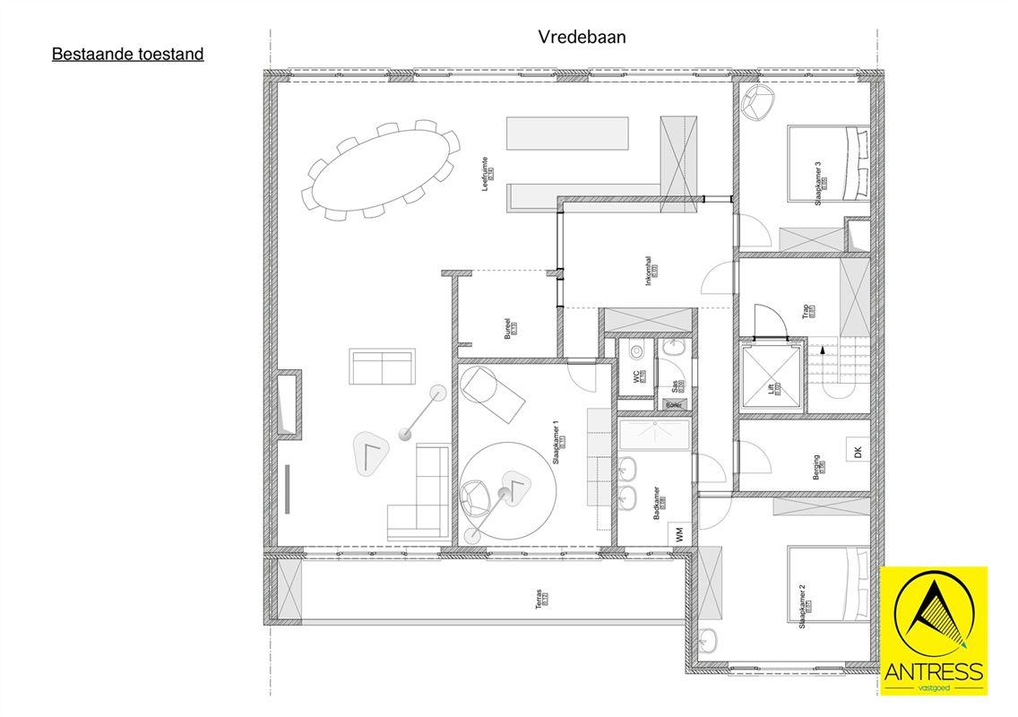Foto 4 : Appartement te 2640 MORTSEL (België) - Prijs € 329.000