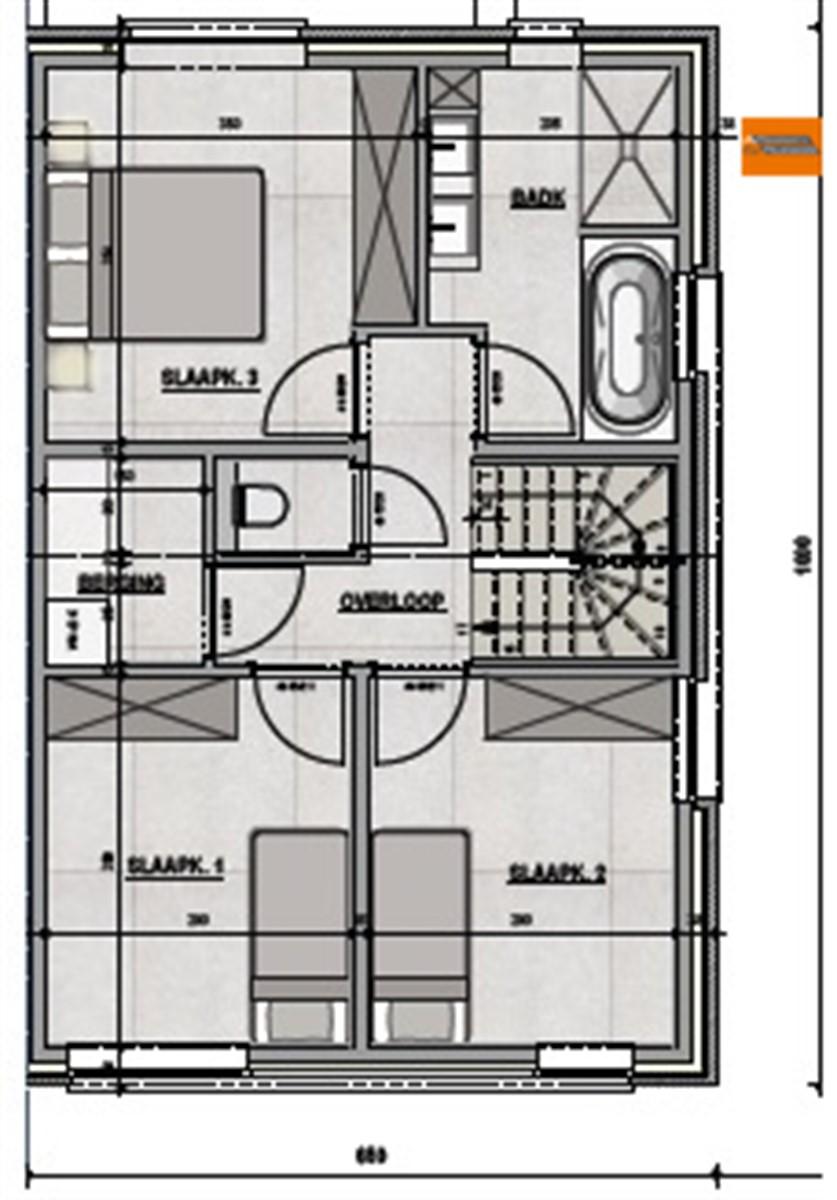 Foto 2 : Huis in 3150 HAACHT (België) - Prijs € 413.200