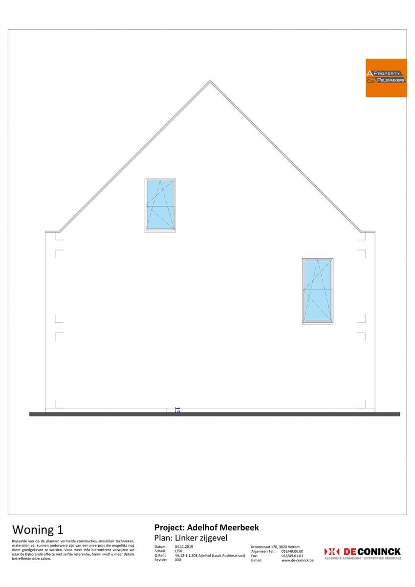 Foto 10 : Huis in 3078 MEERBEEK (België) - Prijs € 484.500