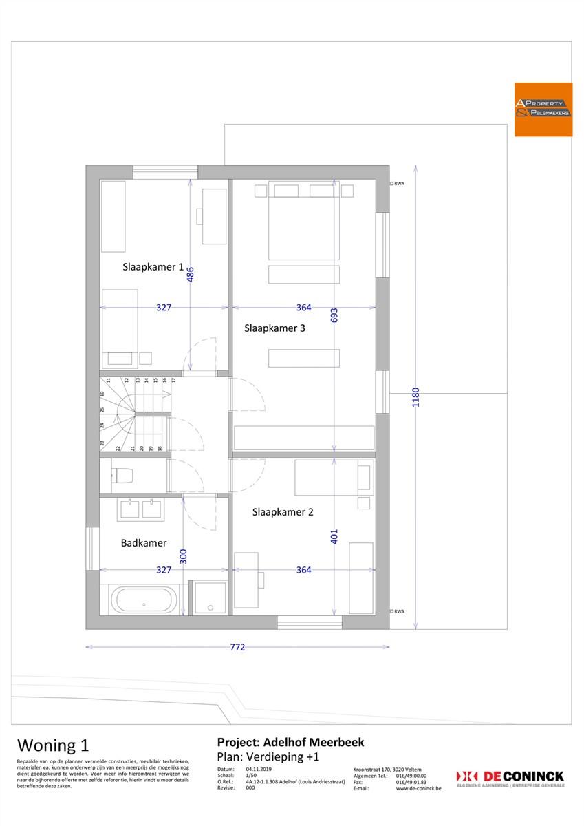 Foto 11 : Huis in 3078 MEERBEEK (België) - Prijs € 484.500