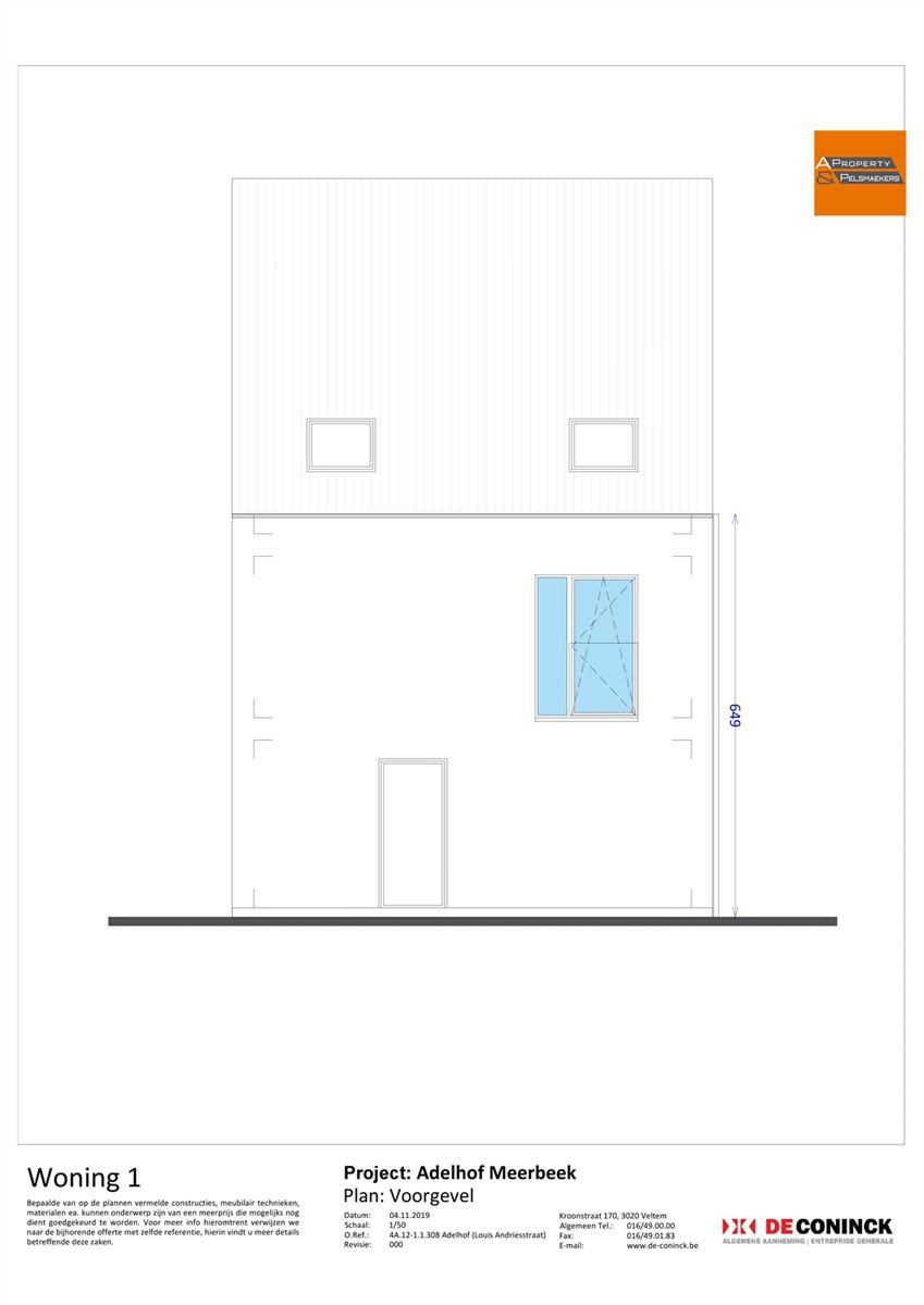 Foto 12 : Huis in 3078 MEERBEEK (België) - Prijs € 484.500