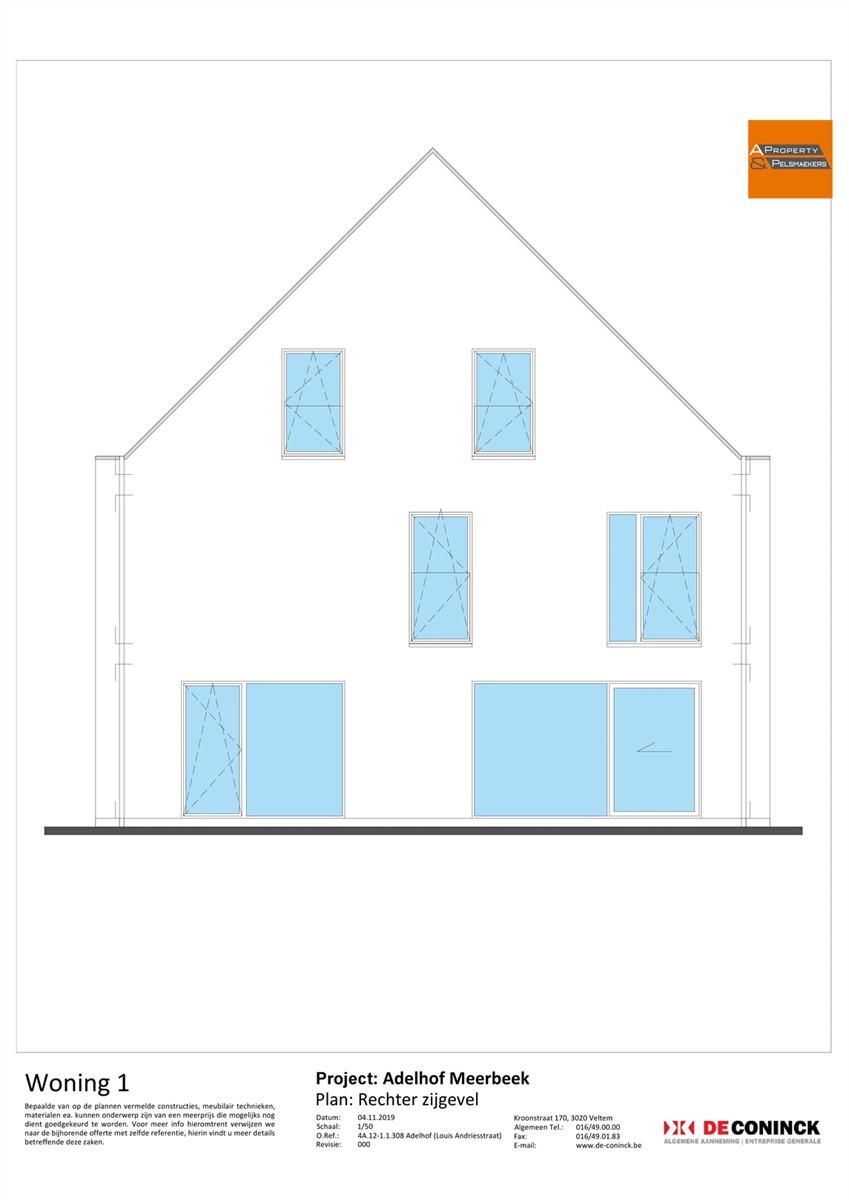 Foto 13 : Huis in 3078 MEERBEEK (België) - Prijs € 484.500