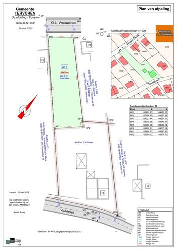 Building land IN 3080 VOSSEM (Belgium) - Price 219.000 €