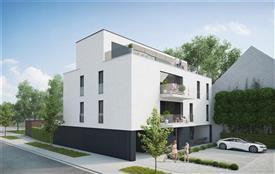 Nieuwbouwappartement te koop met slaapkamer en dressing!