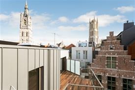 Penthouse in centrum Gent