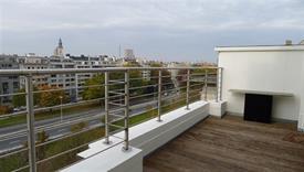 Dakappartement met ruim terras en wijds uitzicht over het Zuidpark