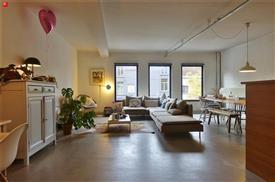 Loftstijl appartement te huur in centrum Gent