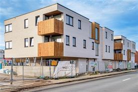 Nieuwbouw appartement met terras