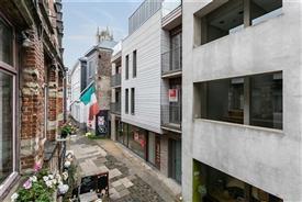 Schitterend penthouse appartement met zicht op de 3 torens van Gent.