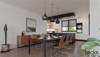 Foto 10 : Nieuwbouw Residentie Overhamme te AALST (9300) - Prijs Van € 337.400 tot € 424.500