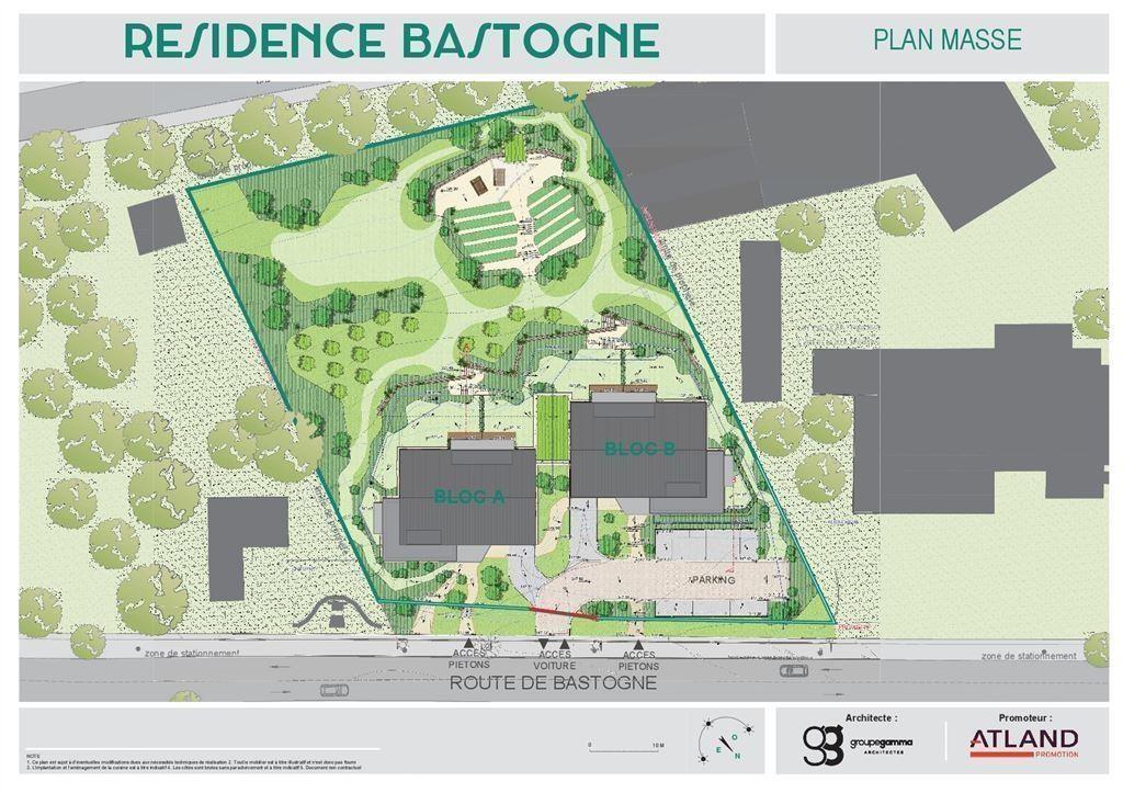 Résidence Bastogne - Appartement témoin disponible - 6900 MARCHE-EN-FAMENNE