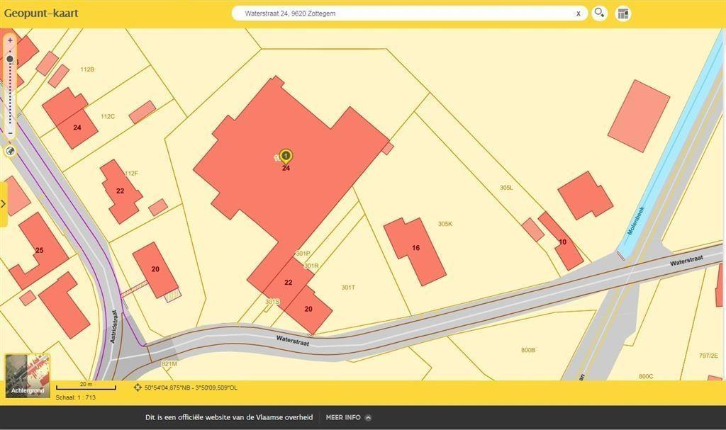 Foto 17 : Bedrijfsgebouwen te 9620 OOMBERGEN (België) - Prijs € 780.000