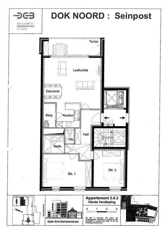 Foto 10 : Appartement te 9000 GENT (België) - Prijs € 800