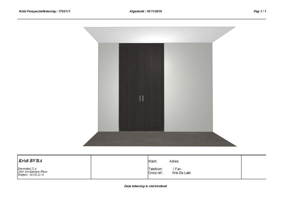 Foto 13 : Appartement te 2860 SINT-KATELIJNE-WAVER (België) - Prijs € 725