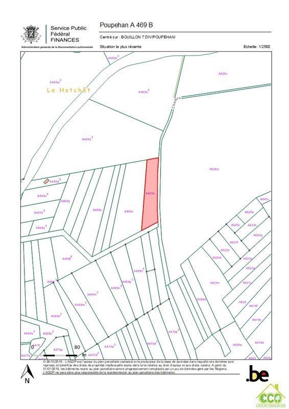 Image 4 : Terrain en zone forestière à 6830 POUPEHAN (Belgique) - Prix 12.500 €