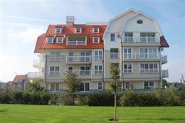 Res. Dock Side 0103 - Appartement met 2 slaapkamers gelegen op de eerste verdieping langsheen de Albert I laan te Nieuwpoort bad Inkomhal met apart t...