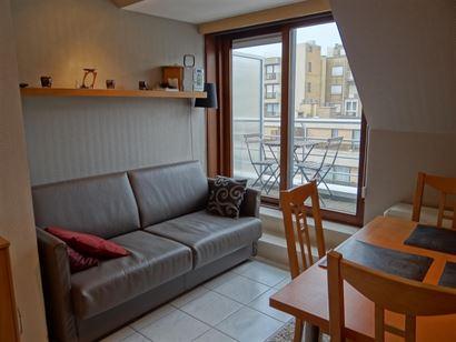 A LOUER A L'ANNEE - meublé - 1 chambre - petit appartement confortable dans le centre de Nieuport-Bain - uniquement à louer en tant que 2eme réside...