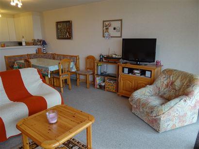 Res. Scorpio A 0001 - Ruim appartement met 2 ruime slaapkamers en slaaphoek (102m²)- Gelegen op de gelijkvloerse verdieping op de zeedijk van Nieuwp...