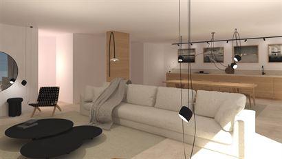 Res. Feniks - Appartement met 3 slaapkamers - 184m² - uitzonderlijke ligging en oppervlakte - Gelegen op de 2de verdieping aan de zonnekant met zijde...