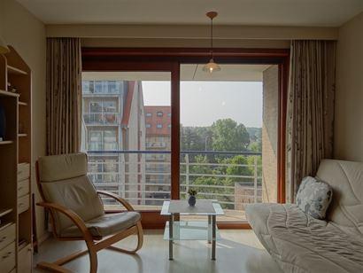 Res. Ensor 49/0402 - Gezellige zonnige studio met slaaphoek in een recente residentie - Gelegen op de vierde verdieping in de vernieuwde Franslaan -  ...