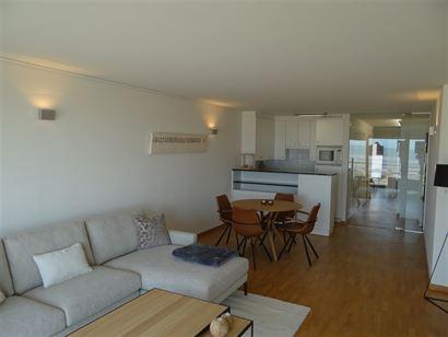 Seasight BC 0106 - Ruim doorloopappartement met twee slaapkamers - Gelegen op de eerste verdieping op de Zeedijk - Inkom met ingemaakte kasten - Leefr...