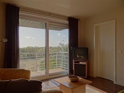 Res. Apollo V 03.02 - Zonnig appartement met slaapkamer - Fantastisch zicht op de duinen vanop de derde verdieping - Inkom - Berging - Toilet - Badkam...