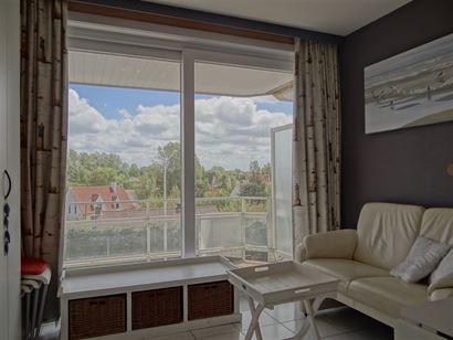 Res. Panorama D2 F306 - Zonnige studio met slaaphoek - Gelegen op de derde verdieping met zicht op de Simli-wijk - Ruime inkomhal met slaaphoek - Douc...