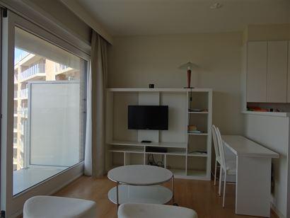 Res. Den Oever VI 0604 - Grand studio avec coin à dormir - Hall d'entrée avec coin à dormir - Salle de douche avec w.c. et lavabo - Séjour lumineu...