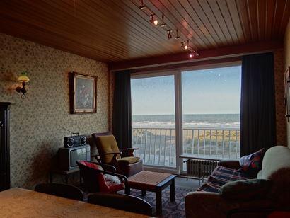 Res. Aigues Marines 48/0201 - Appartement met 1 slaapkamer gelegen op de tweede verdieping op de Zeedijk - Inkomhal - Living - Keuken - Badkamer met l...