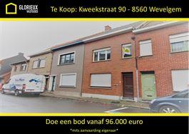 Huis te 8560 WEVELGEM (België) - Prijs € 96.000