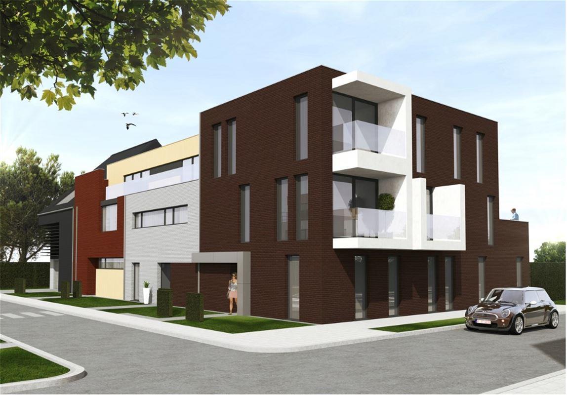 Duplex appartement met 2 slaapkamers en 2 terrassen