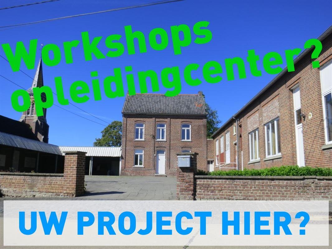 Projectzone: Pastorie + schoolgebouw