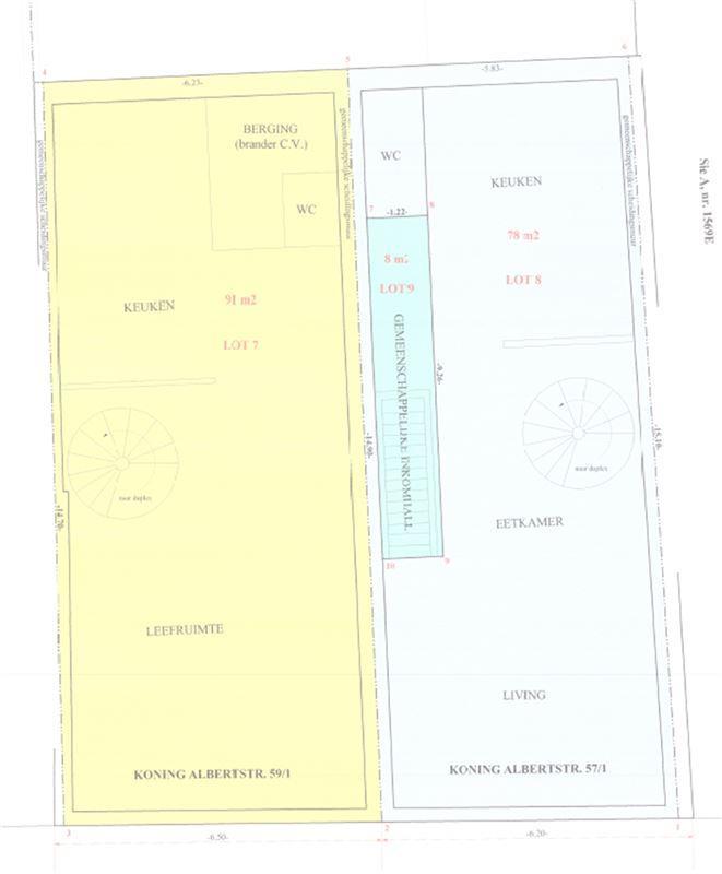 Ruime duplex met twee slaapkamers en leuk terras in centrum van Diest