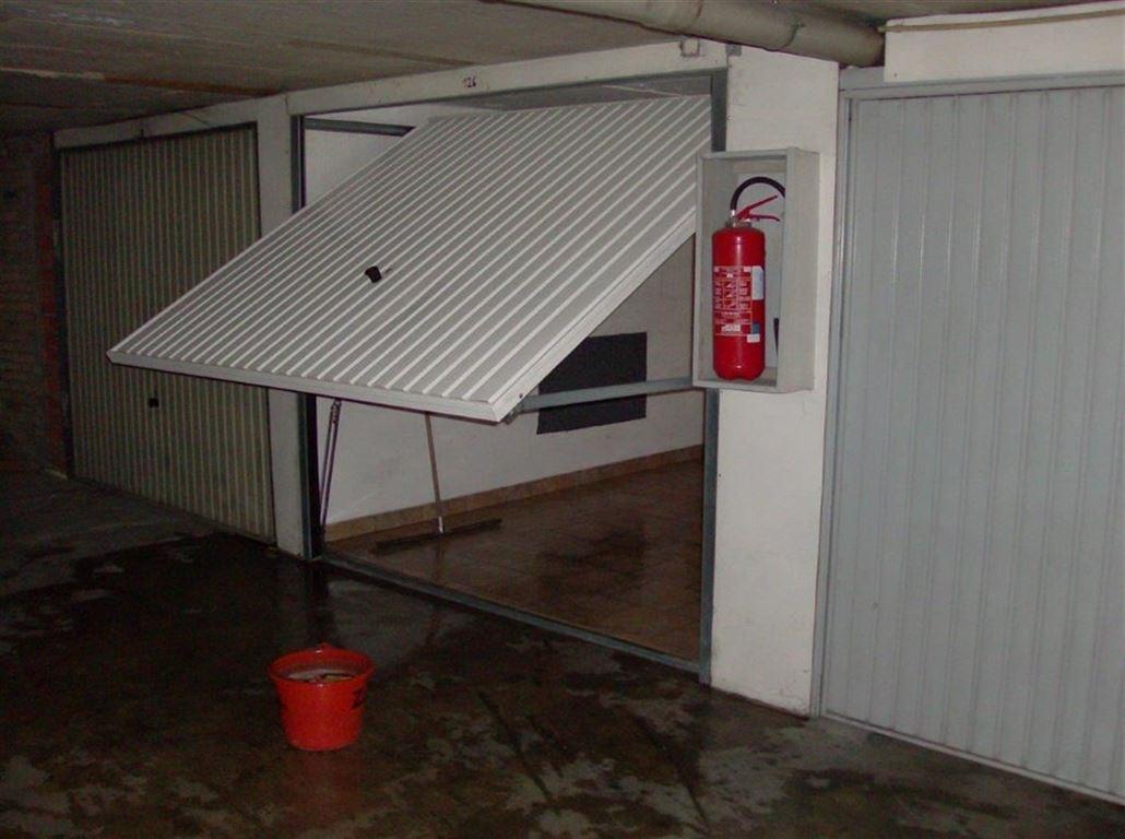 Gesloten garagebox