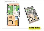 Appartement met 4 slaapkamers en garagebox