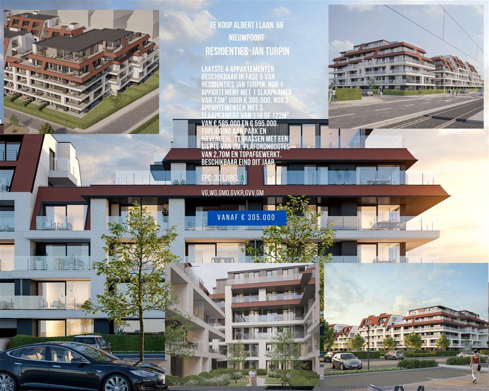 Foto 1 : Appartement te 8620 NIEUWPOORT (België) - Prijs € 295.000