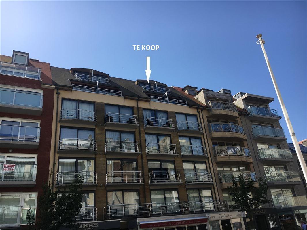 Foto 1 : Gemeubeld appartement te 8620 NIEUWPOORT (België) - Prijs € 145.000
