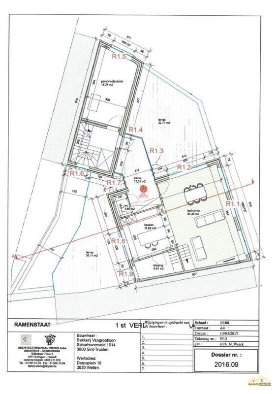 Foto 6 : Duplex te 3830 WELLEN (België) - Prijs € 179.000