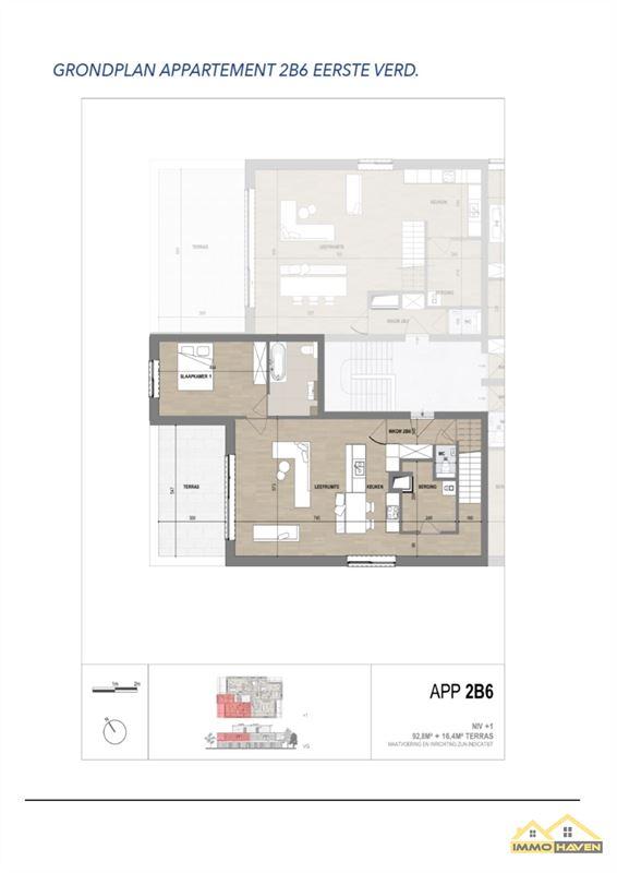 Foto 4 : Duplex te 3830 WELLEN (België) - Prijs € 289.000
