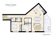 Foto 5 : nieuwbouw appartement te 2820 BONHEIDEN (België) - Prijs € 339.500