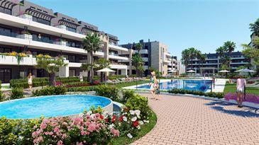 nieuwbouw appartement te 03189 PLAYA FLAMENCA (Spanje) - Prijs € 195.000