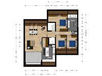 Foto 7 : Appartement te 3740 MUNSTERBILZEN (België) - Prijs € 282.300