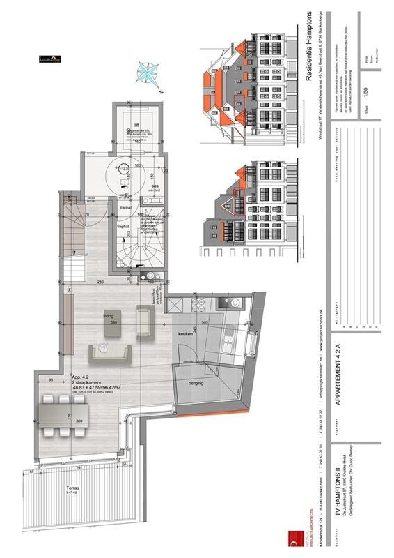 Appartement nieuwbouw te koop te BLANKENBERGE (8370)