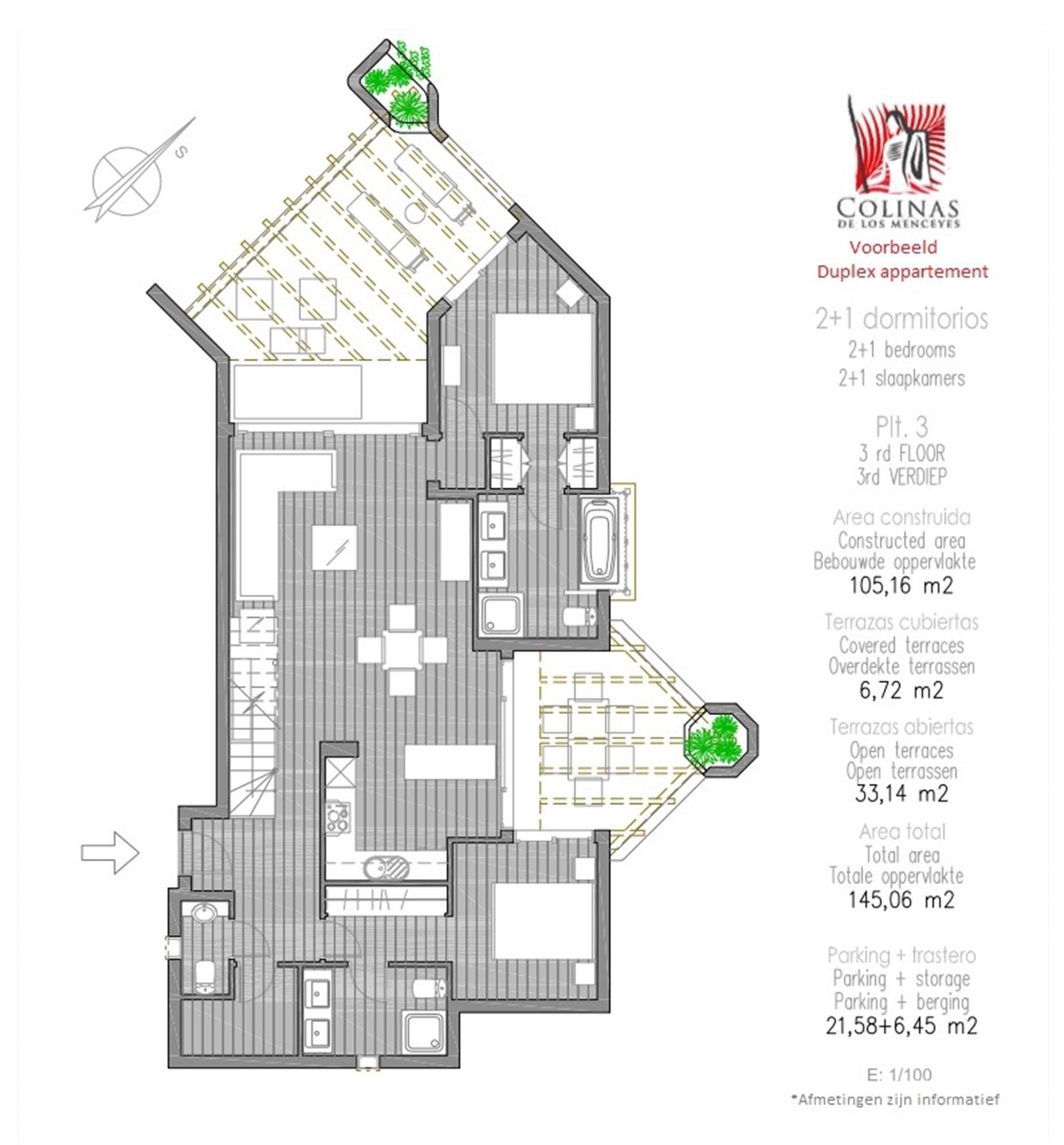 Foto 17 : Appartement te 38632 PALM MAR (Spanje) - Prijs € 450.000