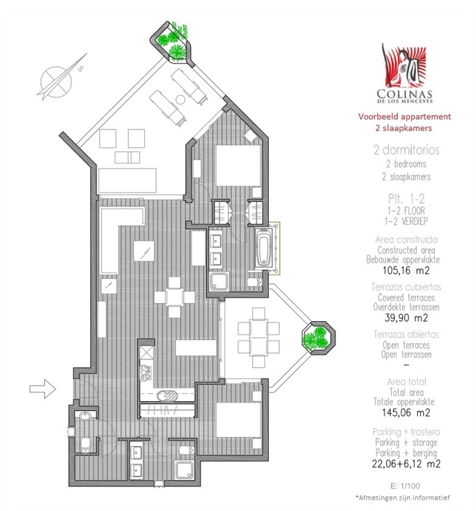 Foto 16 : Appartement te 38632 PALM MAR (Spanje) - Prijs € 450.000