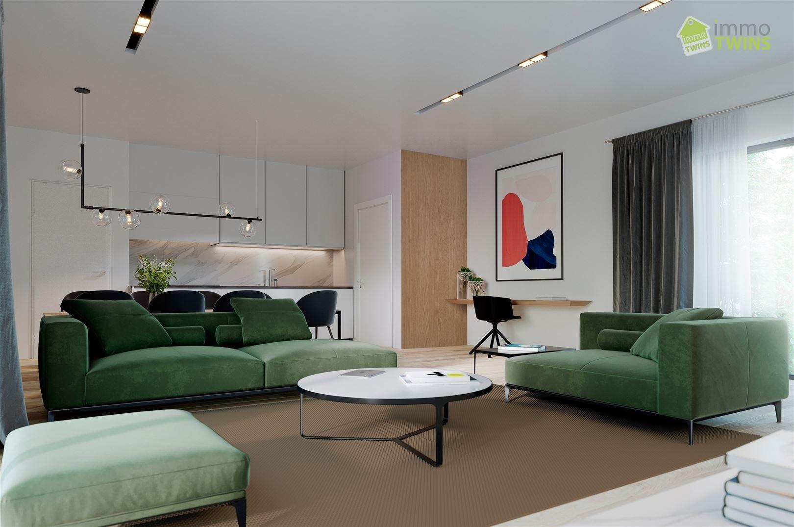 Foto 6 : Penthouse te 9220 MOERZEKE (België) - Prijs € 183.000