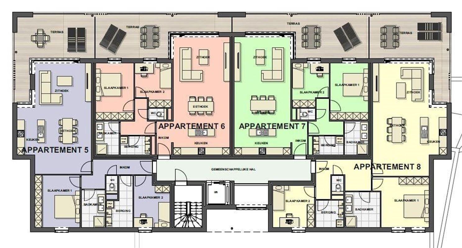 Foto 11 : Appartement te 3680 MAASEIK (België) - Prijs € 226.618