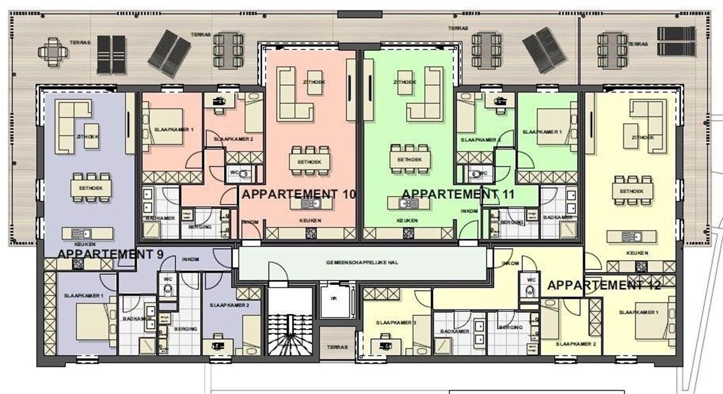Foto 12 : Appartement te 3680 MAASEIK (België) - Prijs € 217.446
