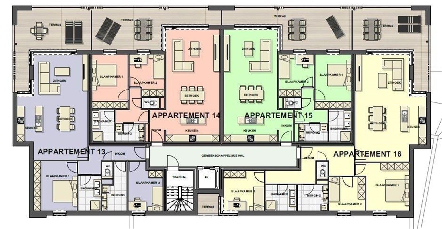 Foto 13 : Appartement te 3680 MAASEIK (België) - Prijs € 217.446