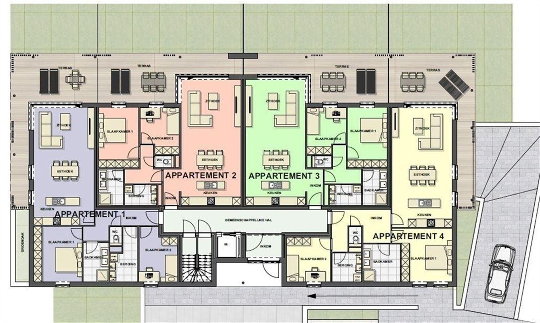 Foto 10 : Appartement te 3680 MAASEIK (België) - Prijs € 217.446